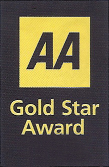 Bed and Breakfast AA Gold Star Award